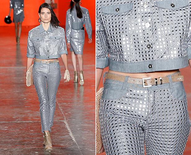 Jeans Espelhado