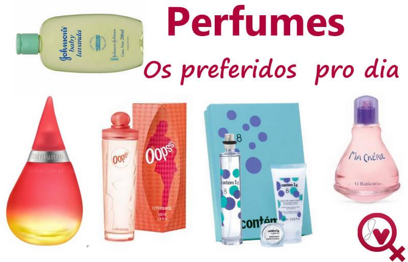 perfumes pro dia