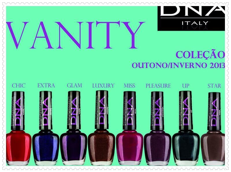 Coleção Vanity DNA Italy