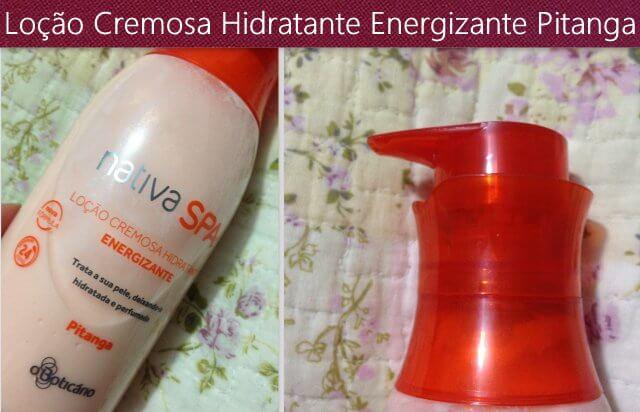 hidratante pitanga nativa spa