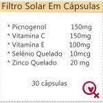 Fórmula do Filtro Solar Em Cápsulas