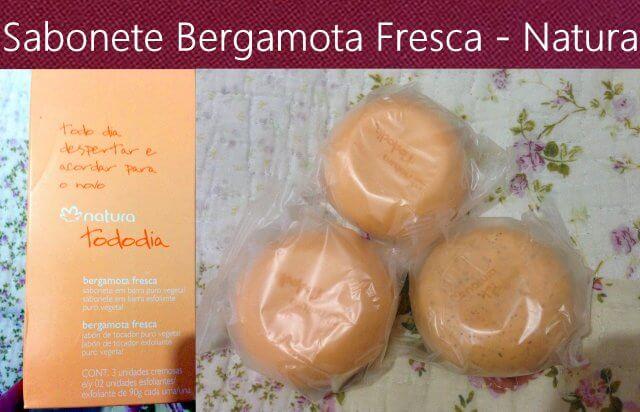 Sabonete Esfoliante Bergamota Fresca
