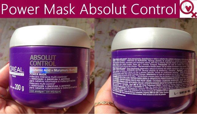 Máscara Absolut Control L´Oréal