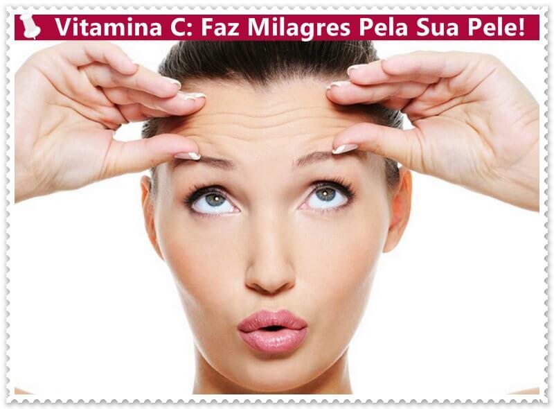 vitamina C tópica pele