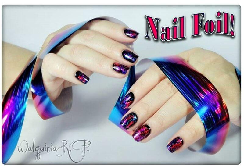 Nail Foil Transfer!