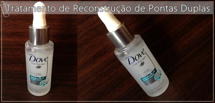 Tratamento Reconstrutor de Pontas Duplas dove