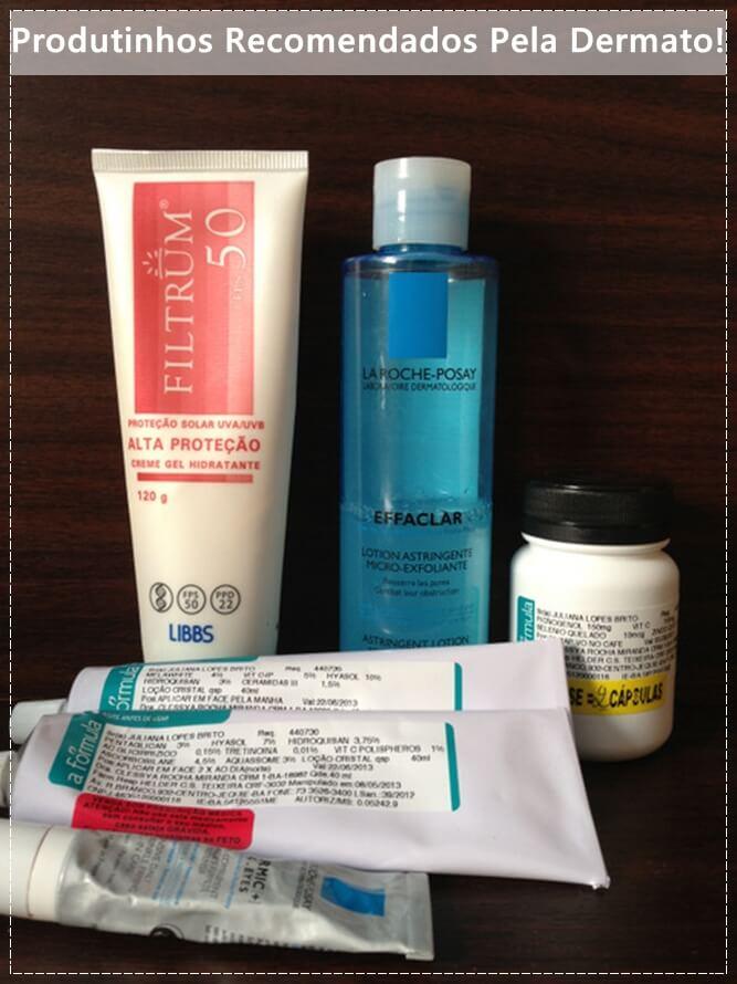 produtos para peles oleosas