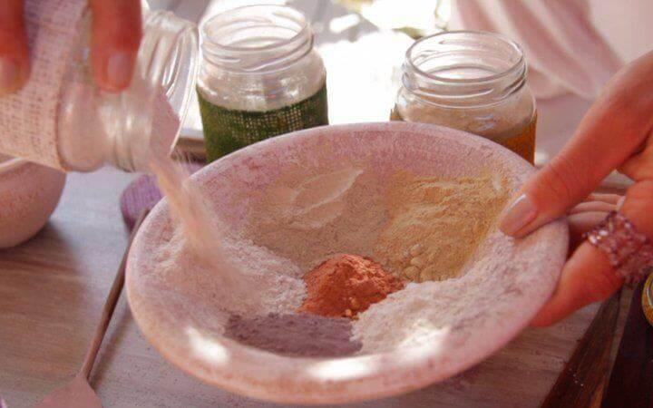 argila verde, pele oleosa, elemento mineral, argila terramater, comprar argila