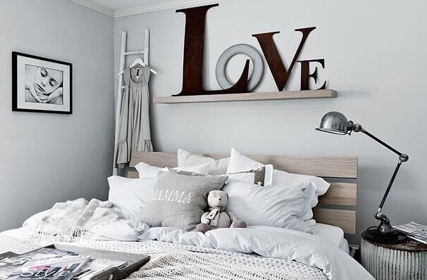 decorar com letras