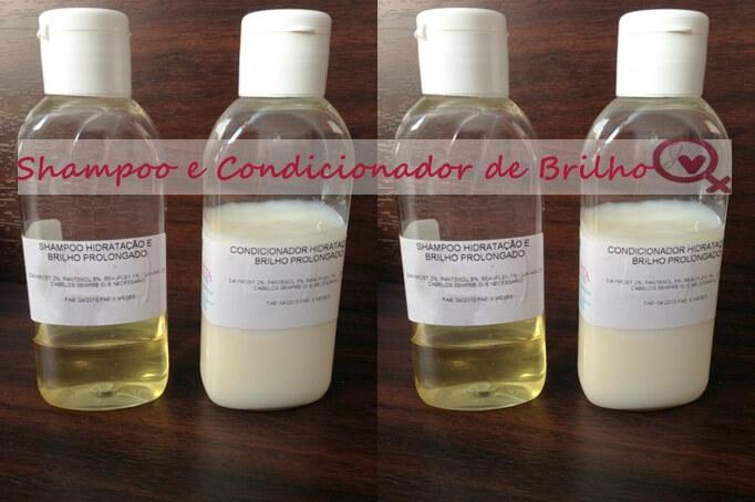 shampoo de brilho