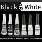 Coleção Black & White -Fina Flor!