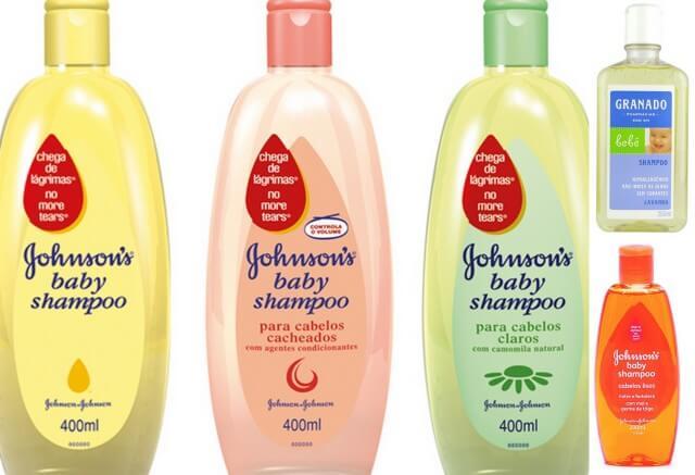 shampoo infantil pra limpar maquiagem