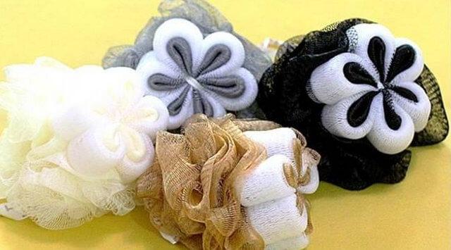 esponja de banho