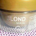 Blond Mask- Truss
