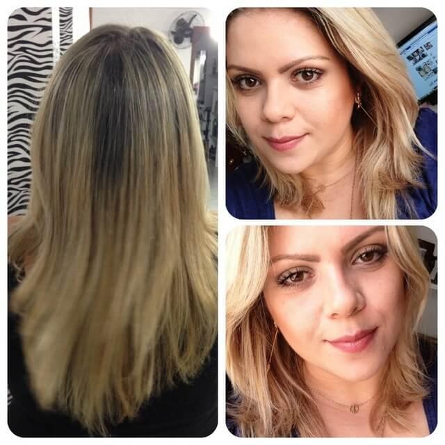 remédio para o cabelo crescer antes e depois