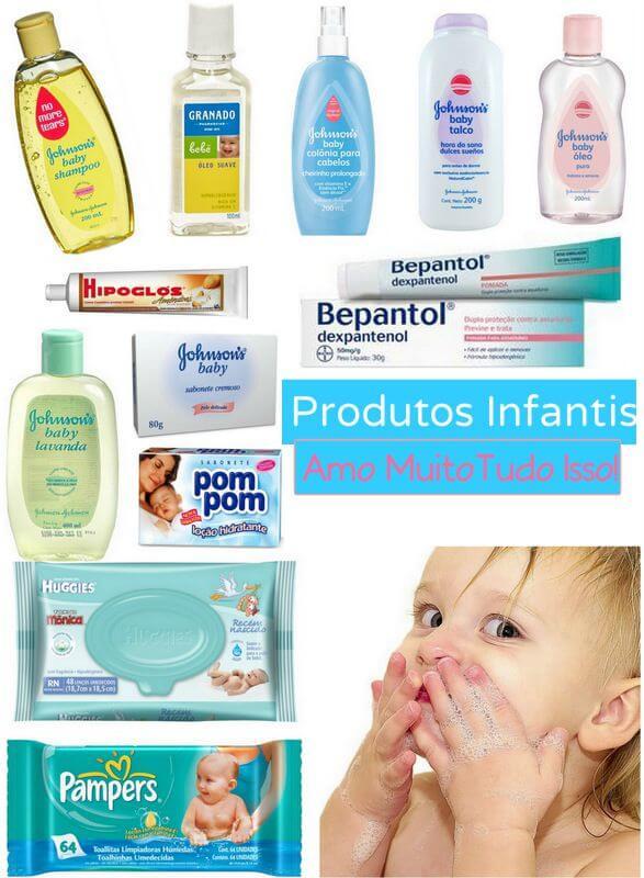 produtos infantis