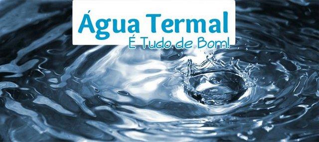 água termal nos cabelos