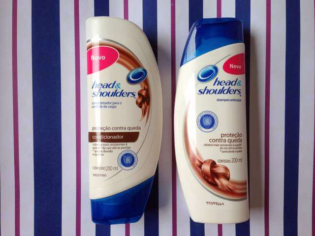 Shampoo e Condicionador Proteção Contra Queda - Head & Shoulders