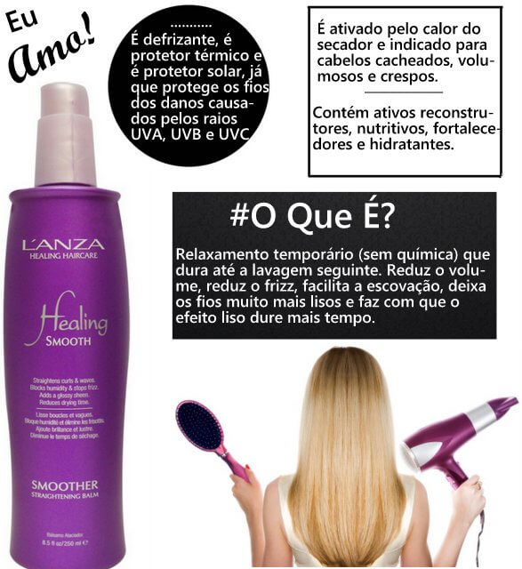 Healing Smooth Smoother Straightening Balm L´Anza