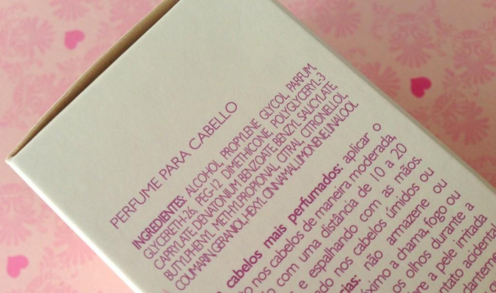 Perfume Pra Cabelos Natura