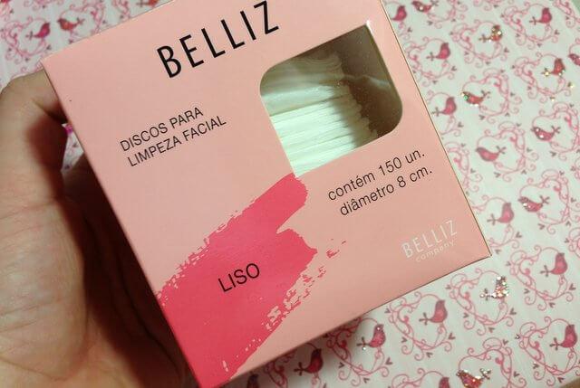 discos limpeza facial belliz