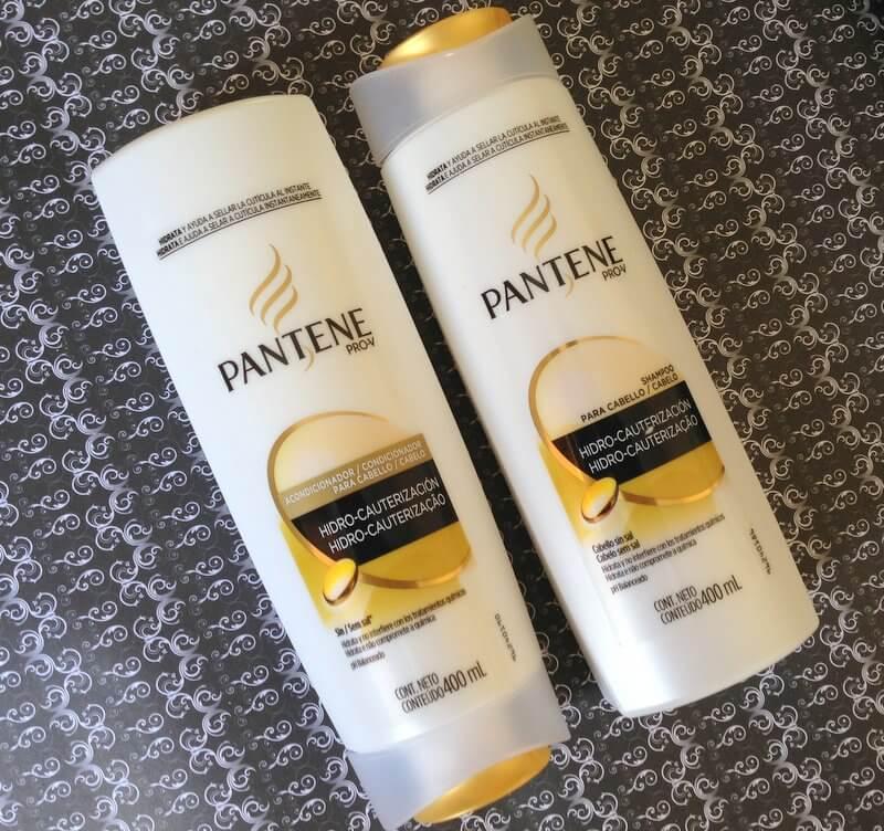 Shampoo e Condicionador Hidro-Cauterização Pantene