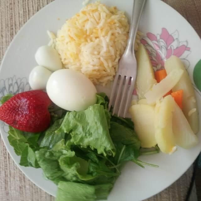 almoçoDani