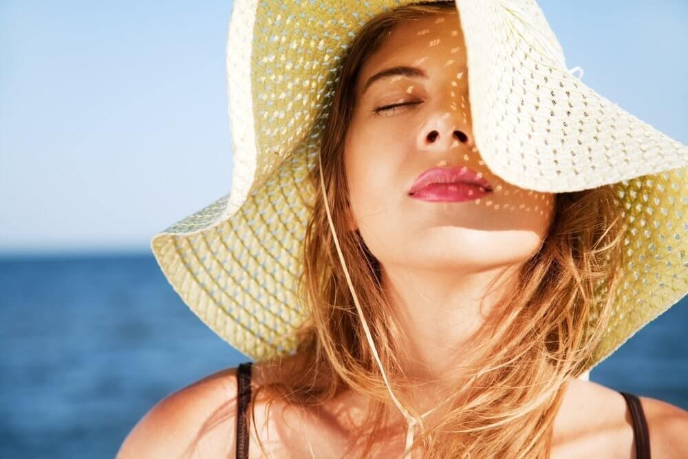 filtro solar para cabelo