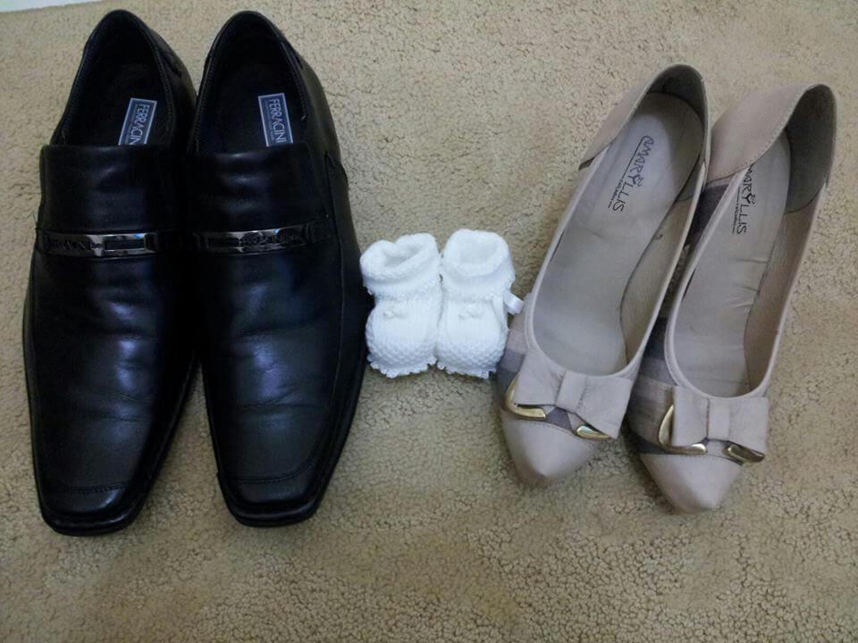 nossos sapatinhos