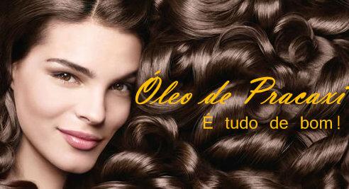 Óleo de Pracaxi no cabelo