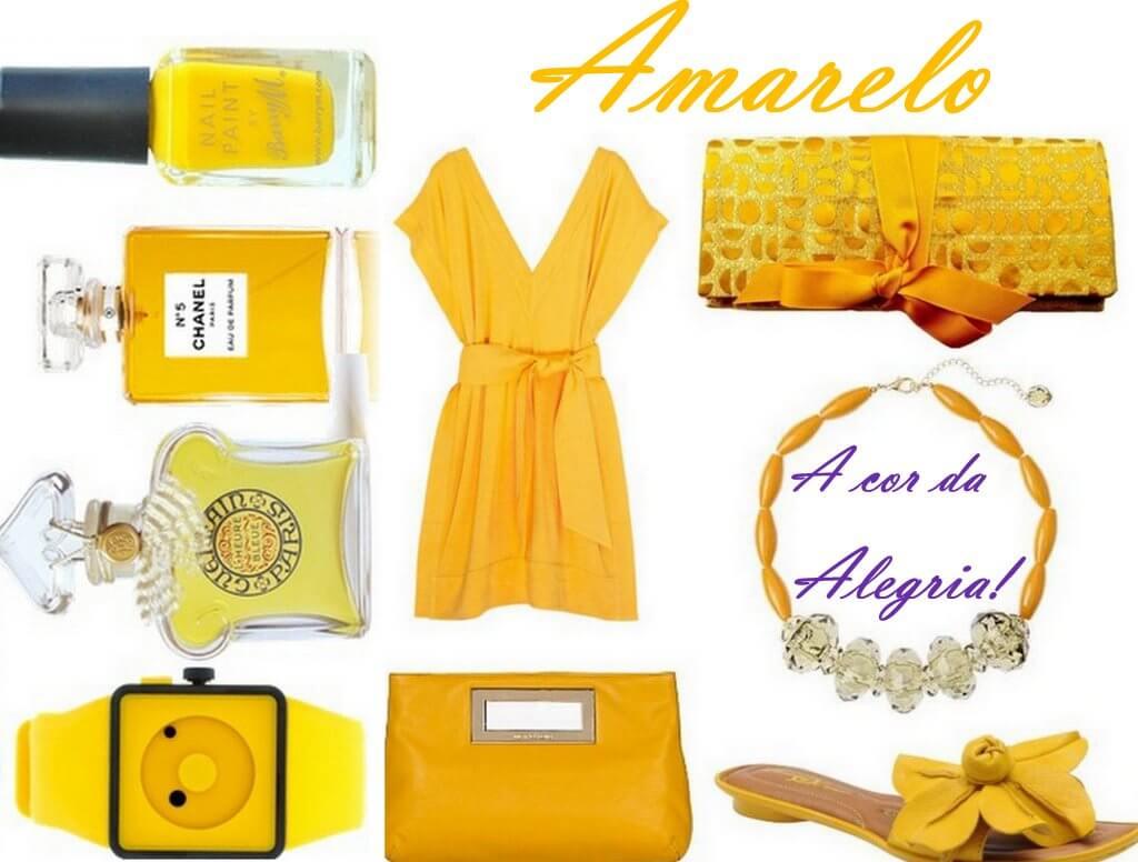 cor ano novo amarelo