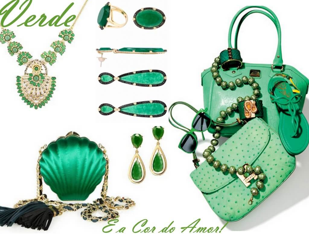 cor ano novo verde