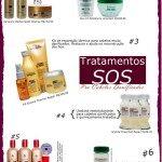 Tratamentos SOS Para Cabelos Danificados