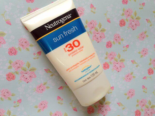 protetor solar neutrogena sun fresh