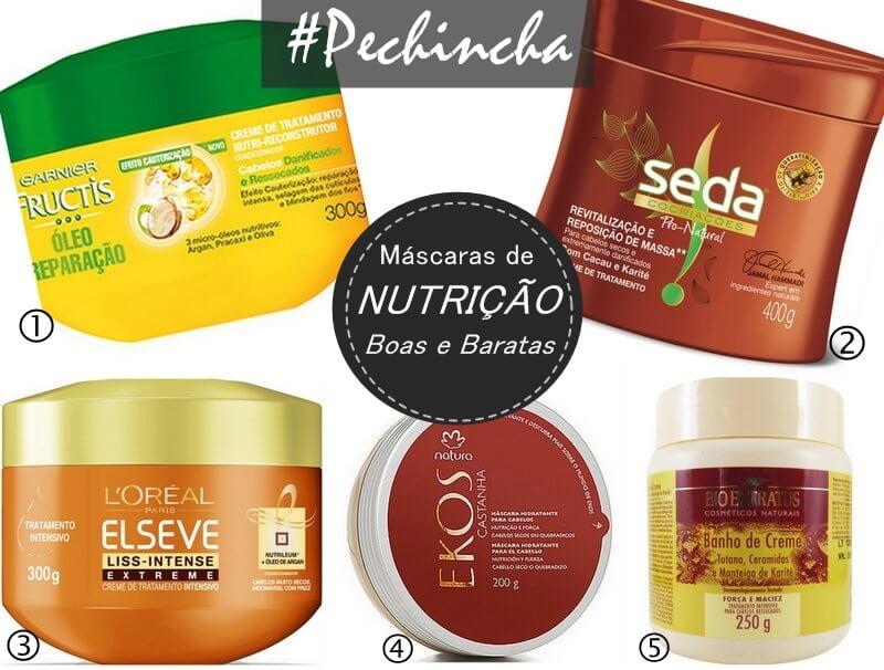 Populares Pechincha: Máscaras de Nutrição Boas e Baratas - Juro Valendo WI25