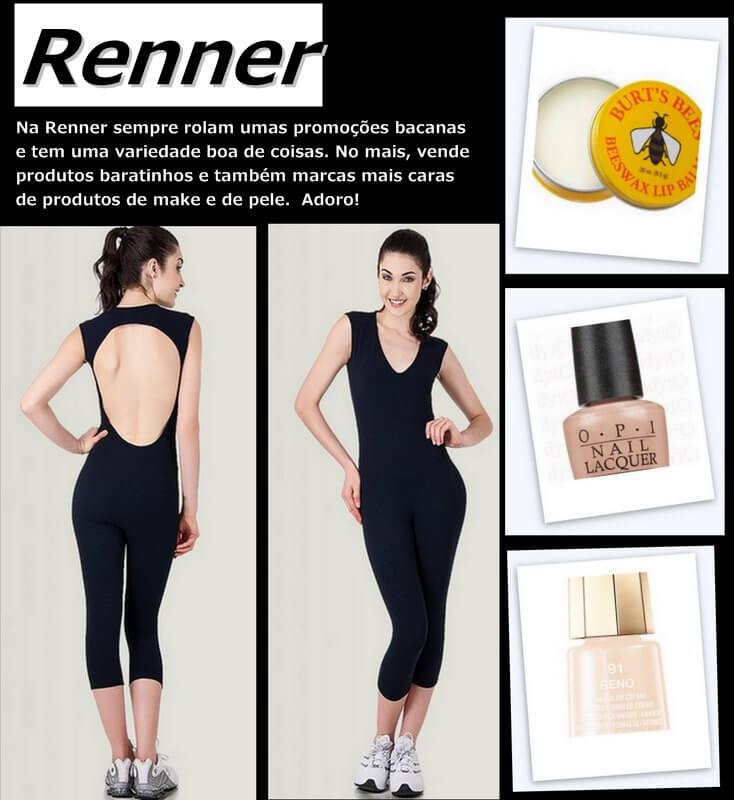 achados fast fashion renner