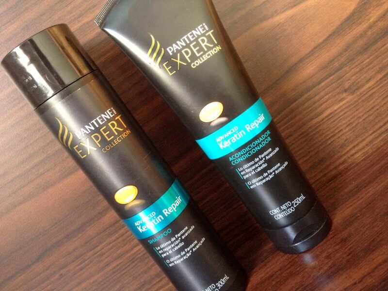 shampoo condicionador keratin repair pantente