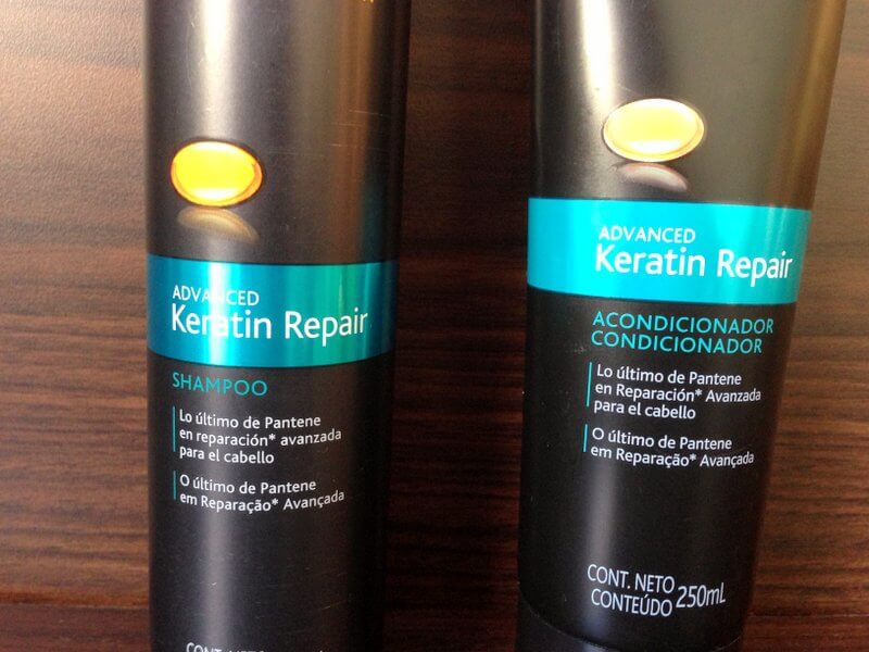 keratin repair pantente