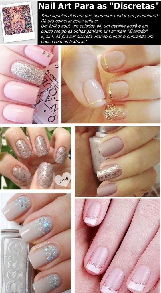 nail art discreta