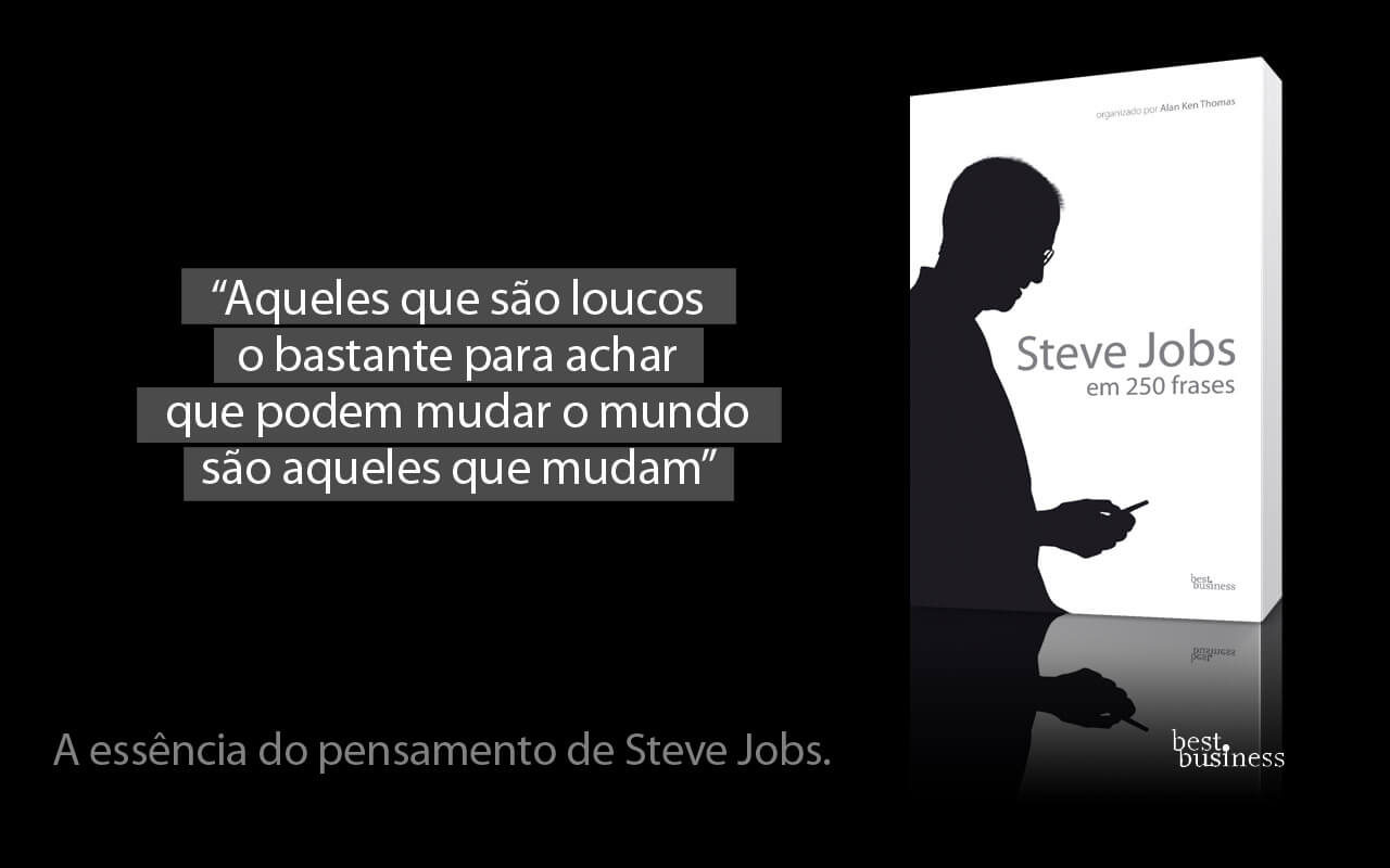Livro Steve Jobs Em 250 Frases Juro Valendo