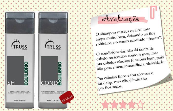 Shampoo e Condicionador Equilíbrio Truss
