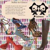 Sapatos das Mulheres do Signo de Gêmeos