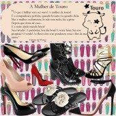 Os Sapatos da Mulher do Signo de Touro