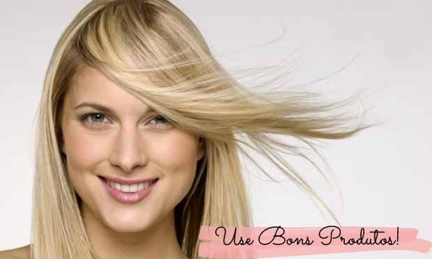 produtos cabelo loiro