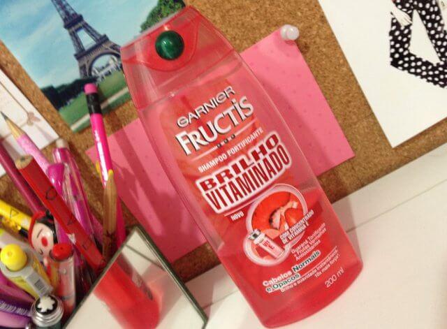 shampoo fortificante brilho vitaminado