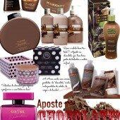 Produtos de Beleza Com Chocolate!