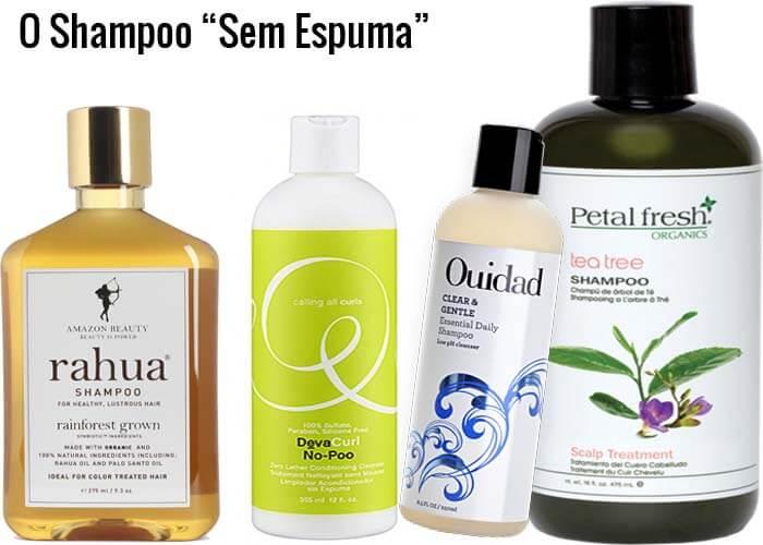Os Novos Tipos de Shampoo