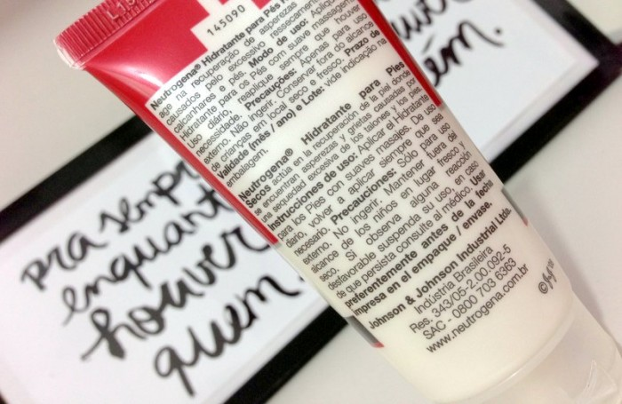 Hidratante Para Pés Ressecados Neutrogena