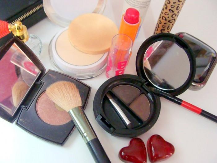 rotina de maquiagen
