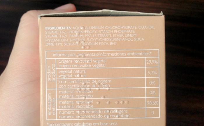 desodorante natura